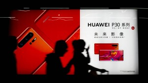 Noch trotzt Huawei dem Bann Amerikas
