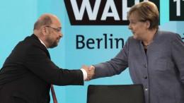 """Schulz: Merkel hat AfD mit """"skandalösem"""" Wahlkampf gestärkt"""