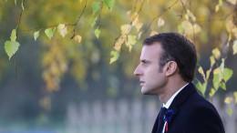 Mutmaßlich Anschlag auf Macron geplant