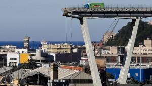 Italien verhängt Ausnahmezustand über Genua