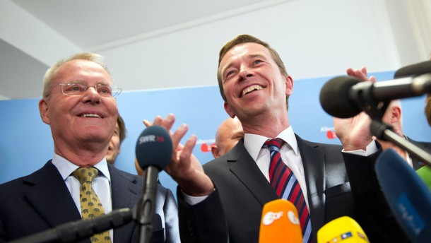 Landtagswahl Sachsen - Wahlparty der AfD