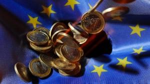 Der Euro ist in Bedrängnis