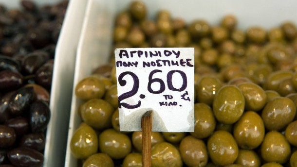 Der griechische Anteil am griechischen Käse