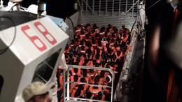 Italiens harte Linie in der Flüchtlingskrise
