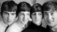 Das waren die Beatles 1963: George Harrison, Paul McCartney, Ringo Starr und John Lennon (von links)