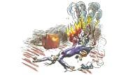Lichtalaouh: Die Dame brennt – waou bleibt die Feierwehr?