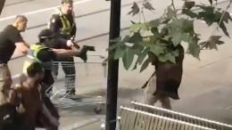 Obdachloser hält Attentäter auf
