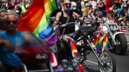 Eine schillernde LGBT-Party