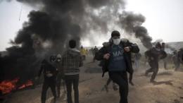 Israelischer Soldat schießt offenbar auf unbewaffneten Palästinenser