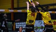 """Ob """"beste Lage"""" oder """"Prachtregion"""": Der deutsche Werberat fand die Po-Werbung auf den Hosen der Suhler Volleyballerinnen nicht lustig."""