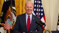 Joe Biden verkündet Einigung über Infrastruktur-Paket