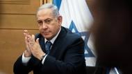 Israels alter Ministerpräsident möchte gerne der neue werden: Benjamin Netanjahu