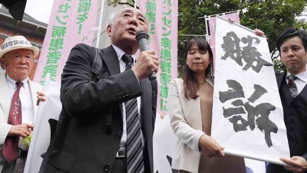 Japan entschädigt Familienangehörige von Lepra-Kranken