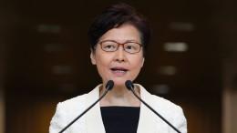 Hongkongs machtlose Regierungschefin Carrie Lam