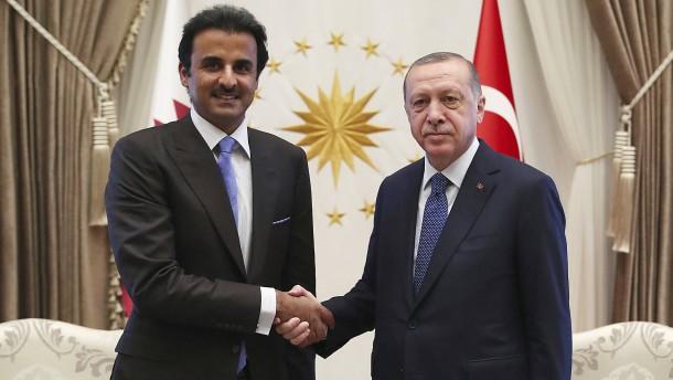 Qatar schenkt Erdogan ein Luxusflugzeug