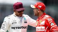 Das Duell um die Weltmeisterschaft zwischen Hamilton und Vettel ist so spannend wie lange nicht mehr.