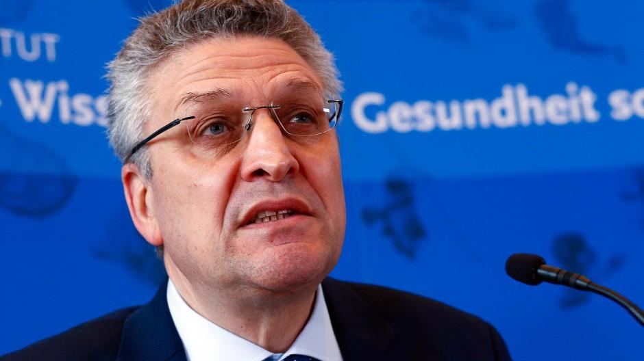 RKI-Chef Lothar Wieler am Freitag in Berlin