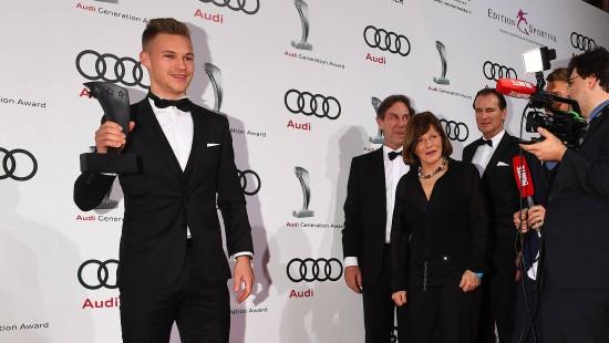Audi Generation Awards in München vergeben