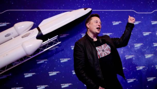 Musk und Bezos streiten um Satelliten-Umlaufbahnen