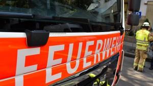 Brand auf Reiterhof in Hofheim