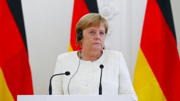Merkel: Koalition wird an Entscheidung über Maaßen nicht zerbrechen