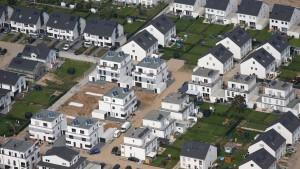 Beunruhigender Anstieg der Immobilienpreise