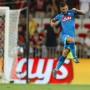 Lorenzo Insigne hat beim ersten Block der Champions-League-Qualifikationen für Neapel im Spiel gegen Nizza ein Tor gemacht.