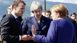 EU rückt im Handelsstreit zusammen
