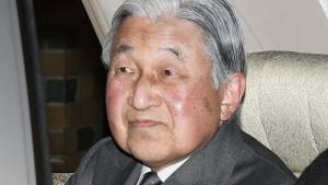 Früherer Kaiser Akihito kurz bewusstlos