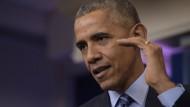 Barack Obama: Reagiert auf Hackerangriffe mit Sanktionen gegen Russland.