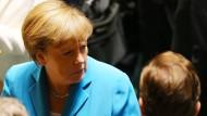 Merkels Beliebtheit sinkt