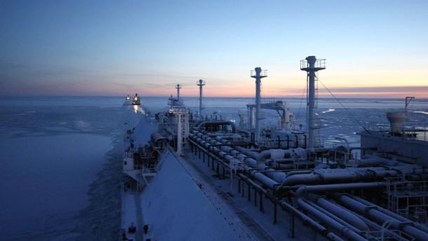 Gasprom und Shell suchen gemeinsam Öl in der Arktis