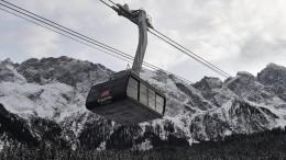 Die Zugspitze hat eine neue Seilbahn