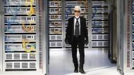 Karl Lagerfeld entwirft für Chanel eine digitale Modewelt
