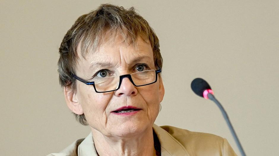 Trägt das neue Berliner Hochschulgesetz nicht mit und tritt zurück: Die Präsidentin der Humboldt-Universität, Sabine Kunst.