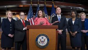 Amtsenthebungsverfahren gegen Trump eröffnet