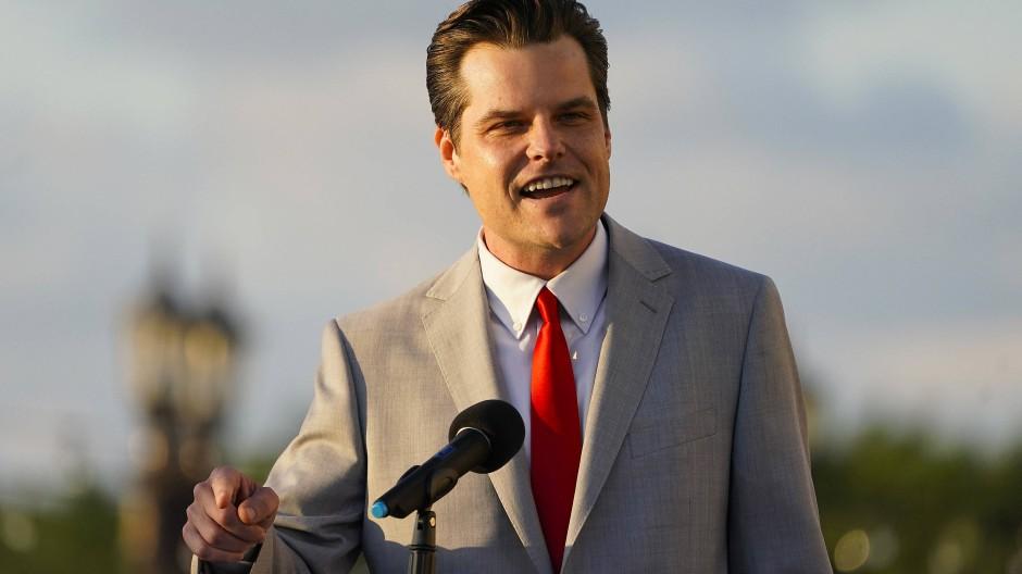 Der republikanische Abgeordnete Matt Gaetz