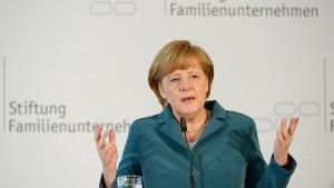 Merkel sieht Spielraum für Mehrausgaben