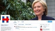 Twitter lacht über das Clinton-Logo