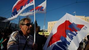 Griechenland entlässt 15.000 Staatsbedienstete