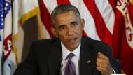 Amerikas Präsident Barack Obama