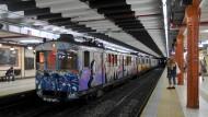 Nach hundert Jahren ist Schluss für die alten Waggons der Linie A in Buenos Aires