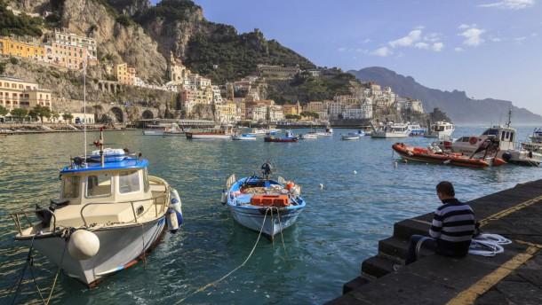 UNESCO-Welterbe: Italiens malerische Amalfiküste  - Reise - FAZ
