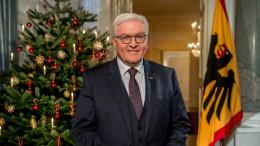 Steinmeier wirbt um Vertrauen in den Staat