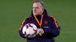 Advocaat hört als niederländischer Nationaltrainer auf