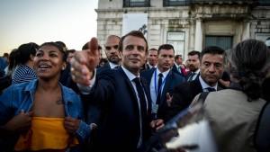Schatten über Macron