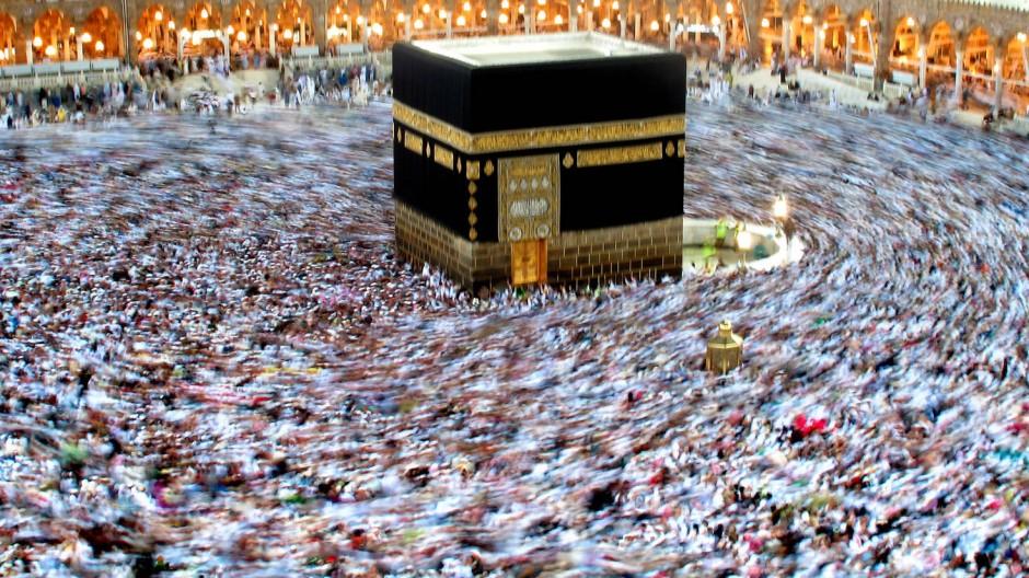"""""""Der Islam ist die Lösung"""": Hier die Kaaba in Mekka"""