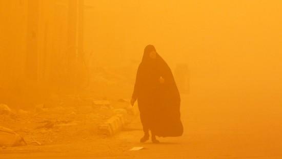 Sandsturm im Irak