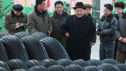 Kims Reifen gegen die Welt