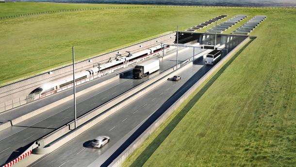 So soll der Fehmarnbelt-Tunnel aussehen